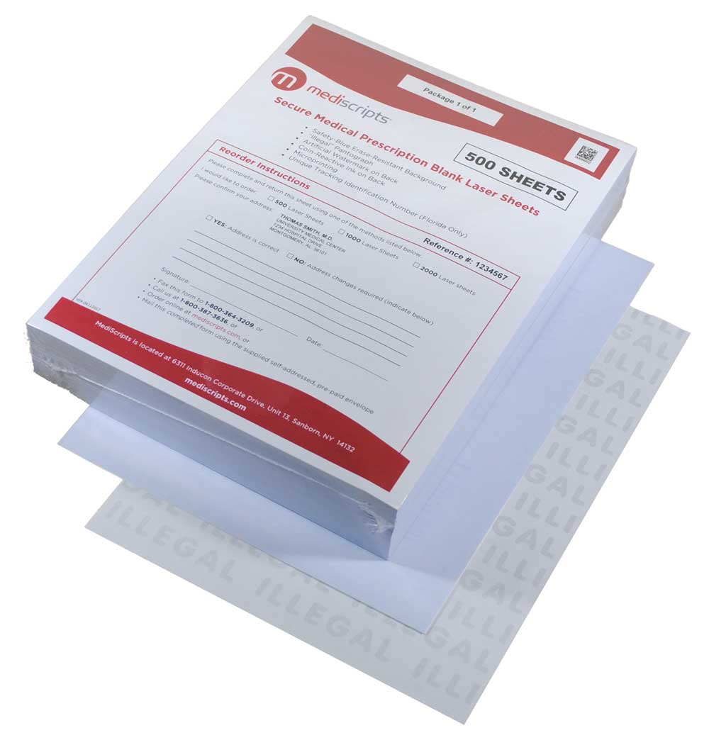 mediscripts Prescription Pads | Order Rx Pads from MediScripts